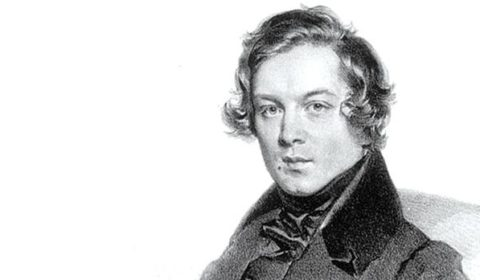 Robert Schumann Bust. Link to blog post with Melodie