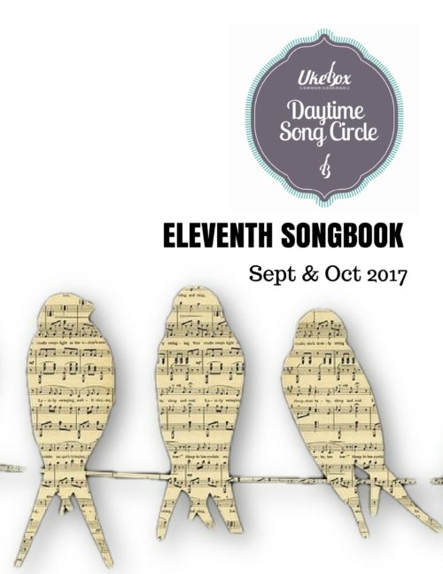 Songcircle Eleventh Songbook Sept Oct 2017
