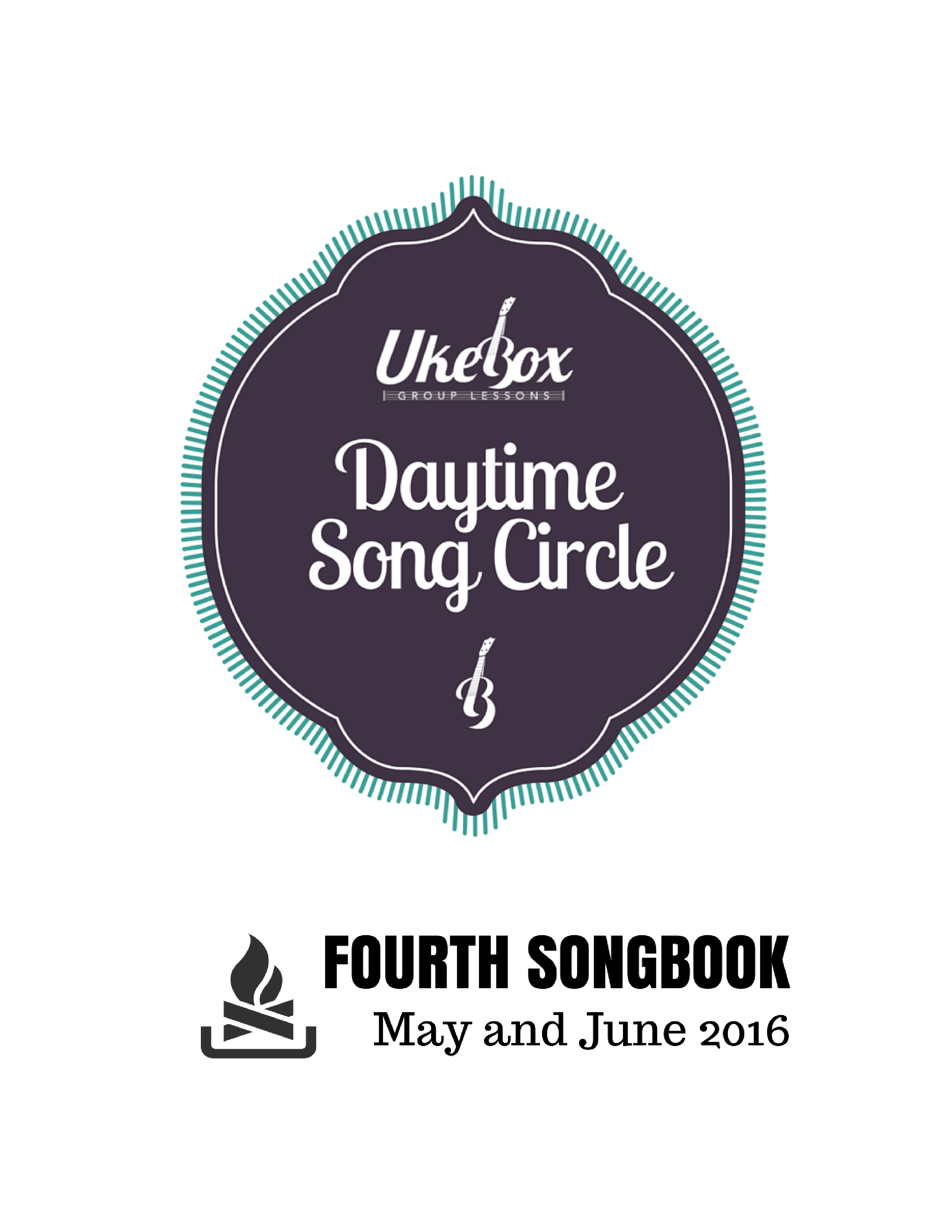 Songcircle Fourth Songbook May June 2016