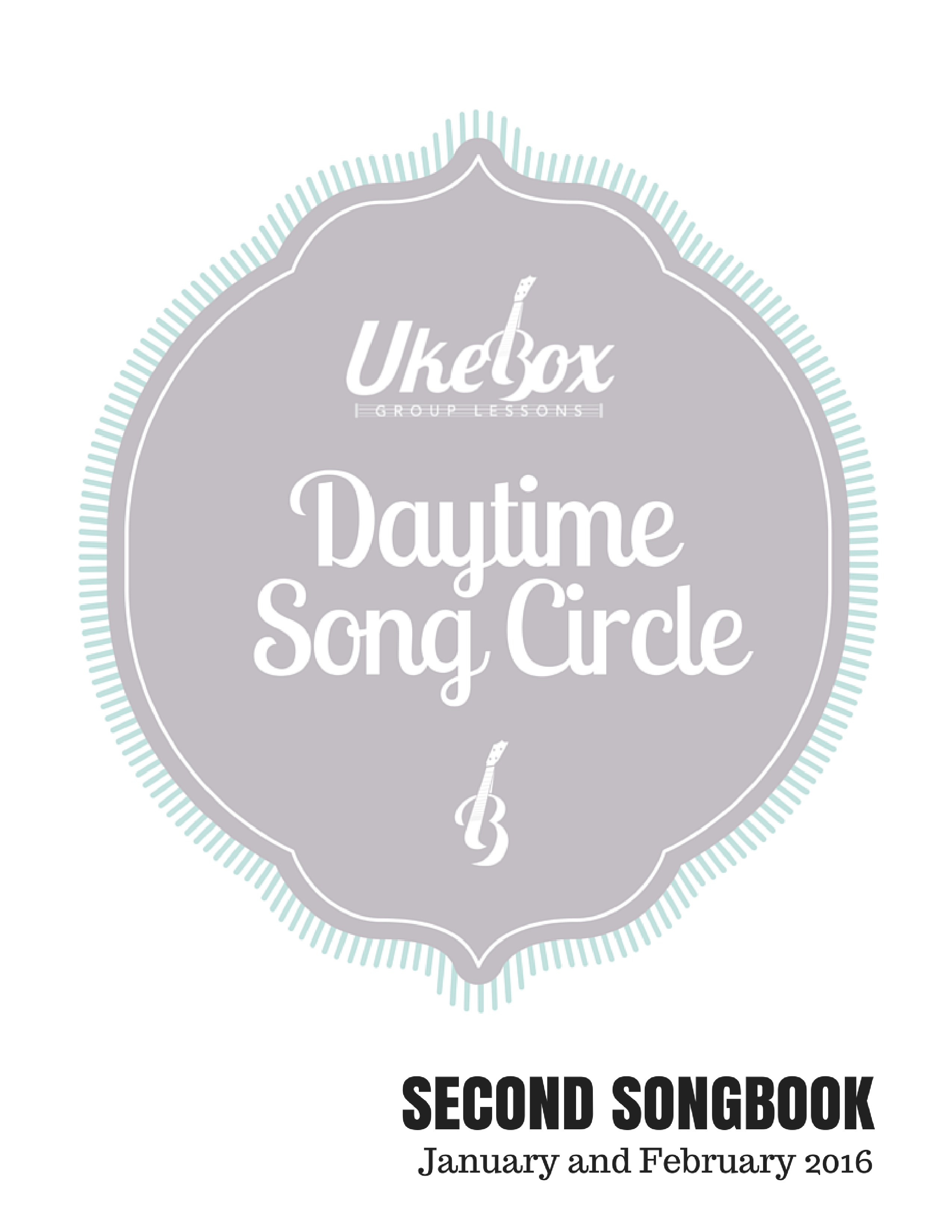 Songcircle Second Songbook Jan Feb 2016