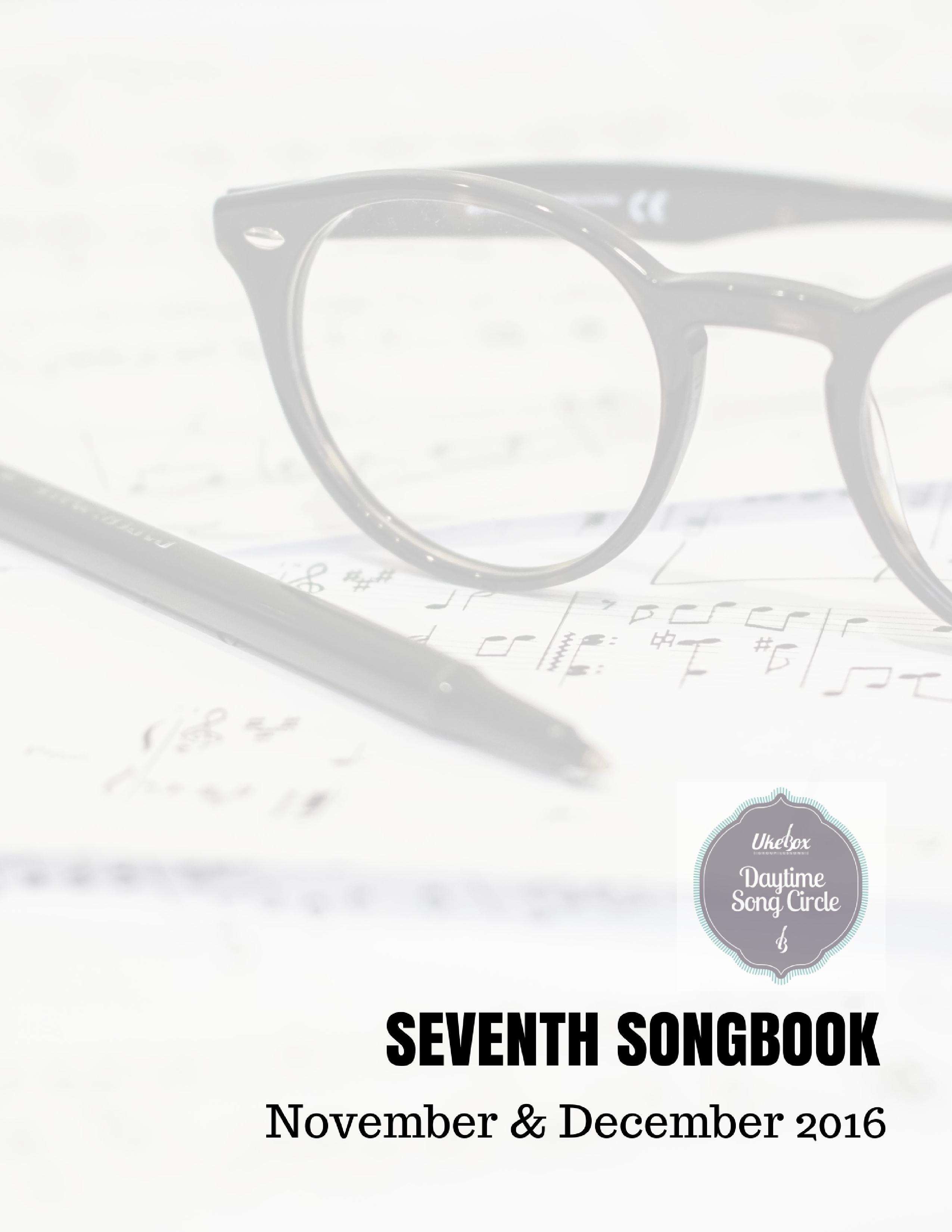 Songcircle Seventh Songbook Nov Dec 2016