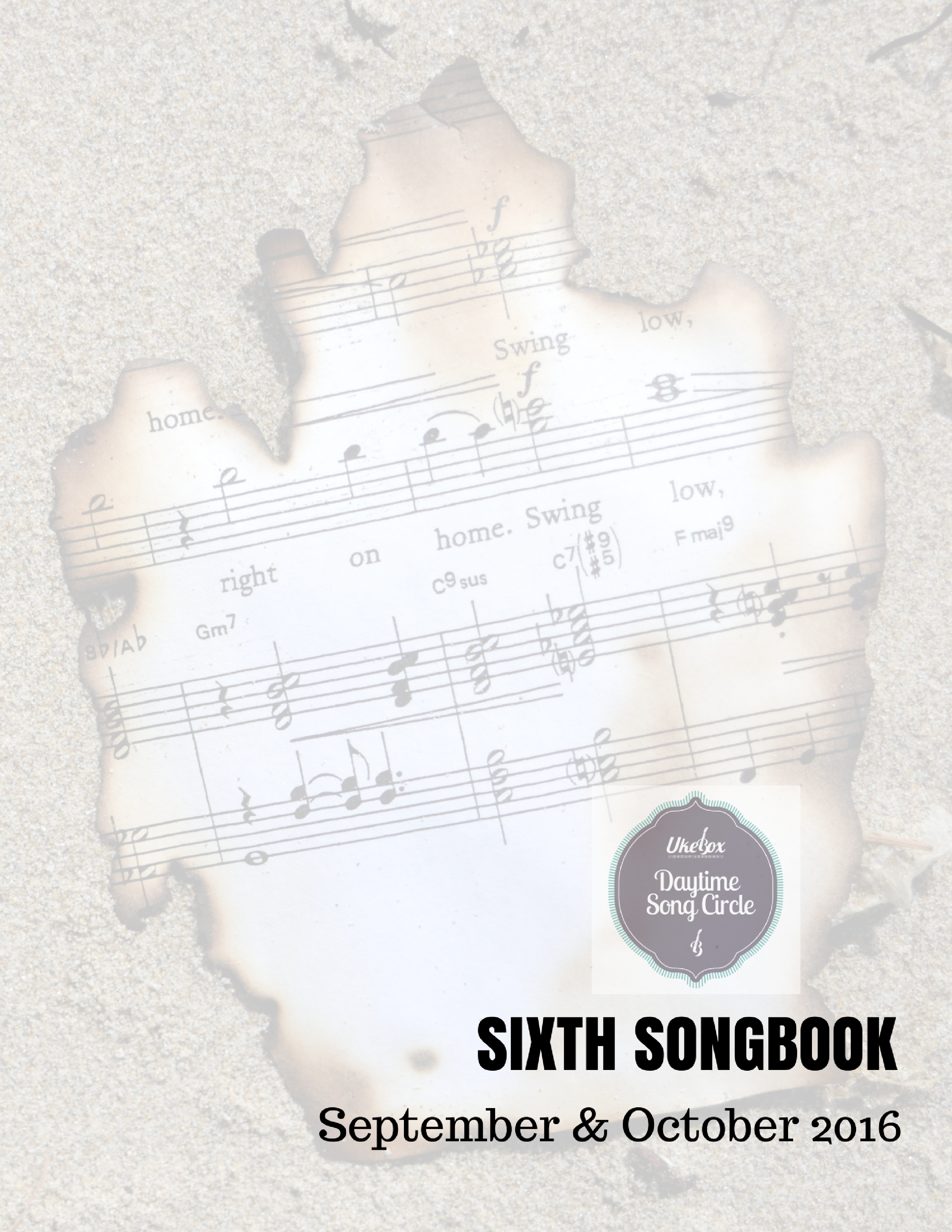 Songcircle Sixth Songbook Sept Oct 2016