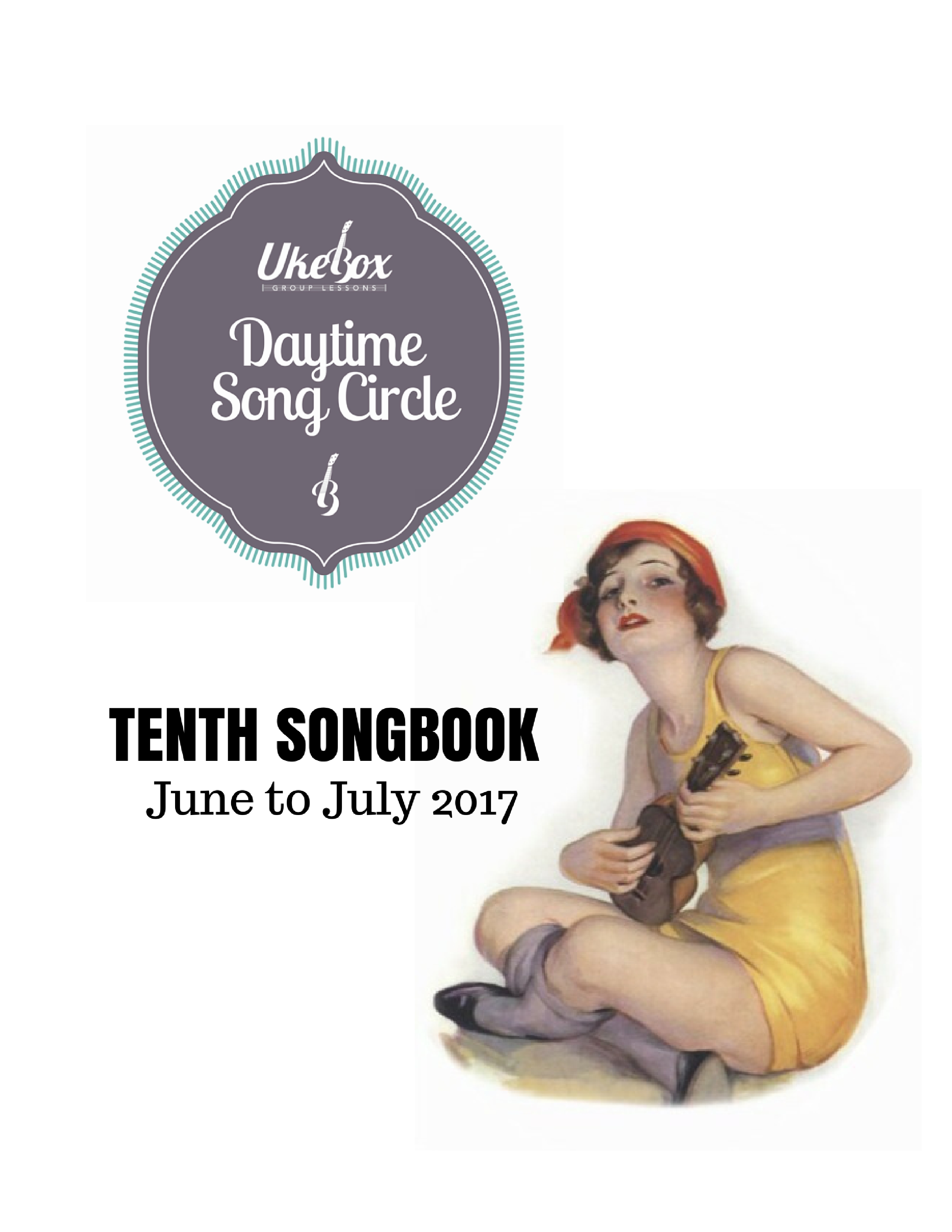 Songcircle Tenth Songbook June July 2017