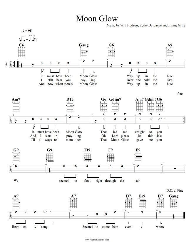 Songbook View – Ukebox Lessons